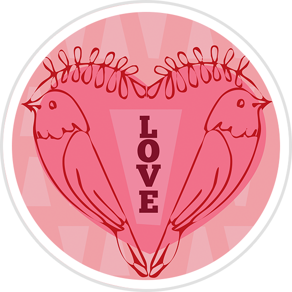 Valentine's Day Template Badges – Beanstack: Help Center for Libraries